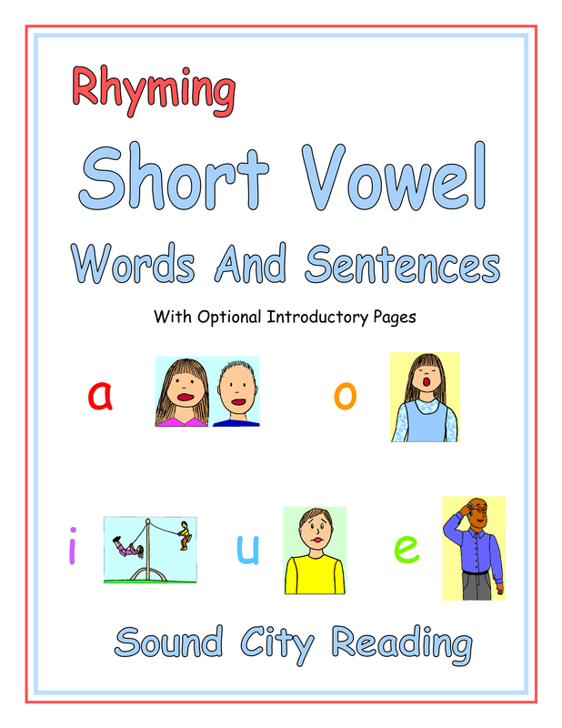 Level 3 Short Vowels Sound City Reading