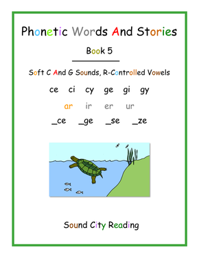 PDF Files For Phonics Patterns Books - SOUND CITY READING